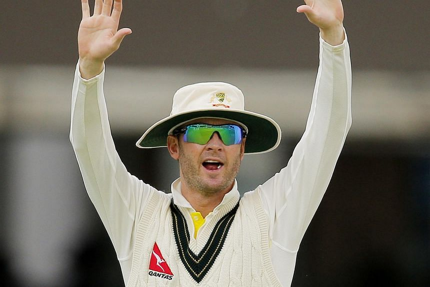 Australia's Michael Clarke at the second Ashes Test against England at Lord's on July 19, 2015.