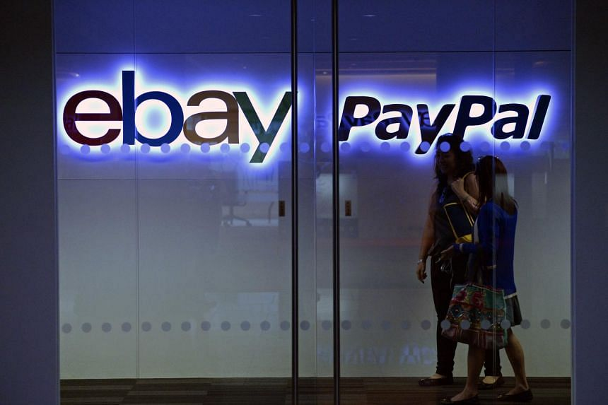 PayPal, spun off from eBay Inc, is widely expected to build partnerships with e-commerce rivals and try to seize market share in mobile payments service. PHOTO: SPH