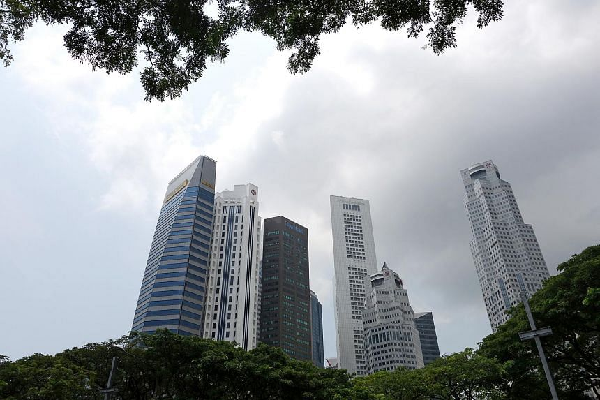 The backdrop of the Central Business District in Singapore. Criminal investigators from the US Internal Revenue Service are investigating whether a Singapore asset-management firm accepted transfers from undeclared Swiss accounts closed by US taxpaye