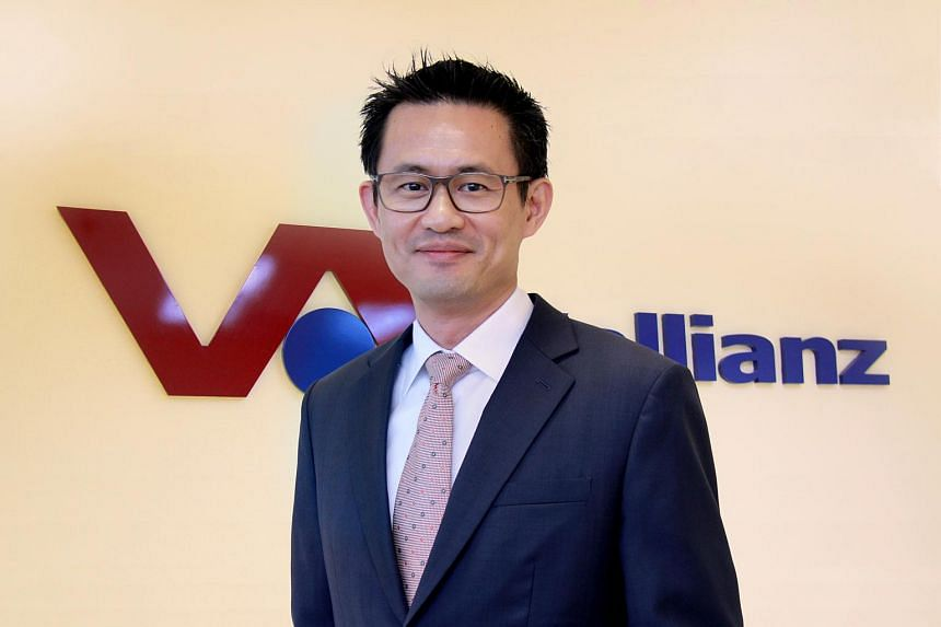 Mr Ling Yong Wah, CEO of Vallianz Holdings.