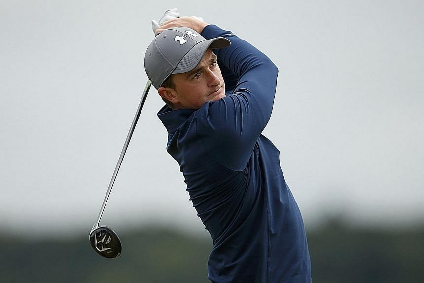 Irishman Paul Dunne, 22, is the first amateur to lead golf's oldest Major at the 54-hole stage in 88 years.