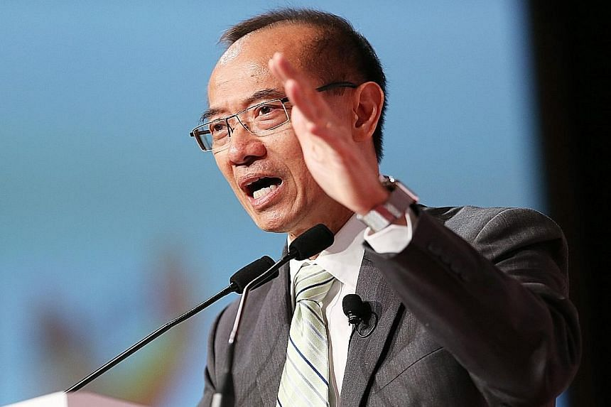 Beijing is creating new patterns that the world has not seen before, said former foreign minister George Yeo.