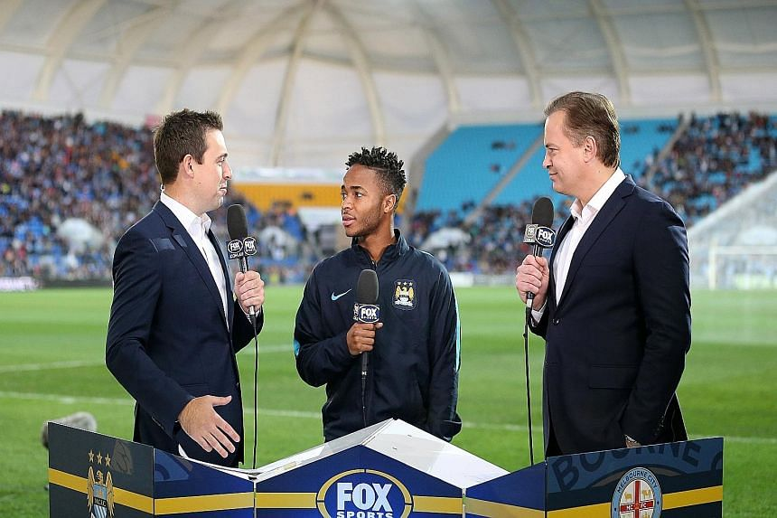 Raheem Sterling (centre), says he declined to comment on the talk about his absence because he didn't want to add fuel to the fire.