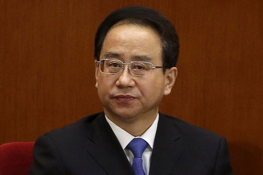 Ling Jihua is accused of receiving sexual favours, illegally obtaining core state secrets and colluding with his wife to take bribes.