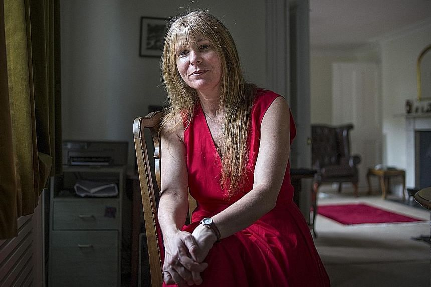 """Mrs Clare Rewcastle Brown at her home in London. She says her role as a journalist is to """"expose the truth""""."""