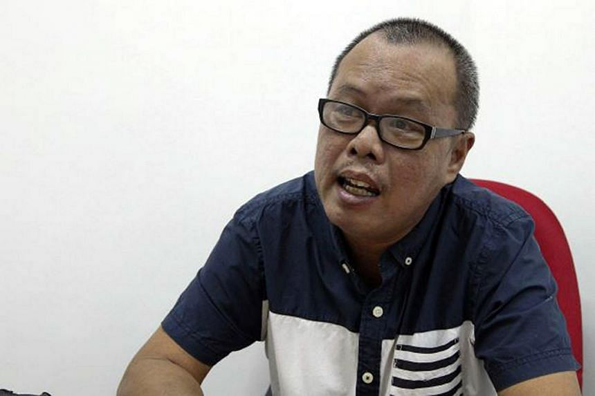 Former Sarawak newspaper editor Lester Melanyi.
