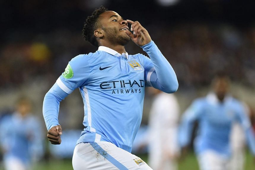 Sterling swooped on a defence-splitting pass to leave Roma goalkeeper Morgan de Sanctis flailing and slot the ball into the empty net.