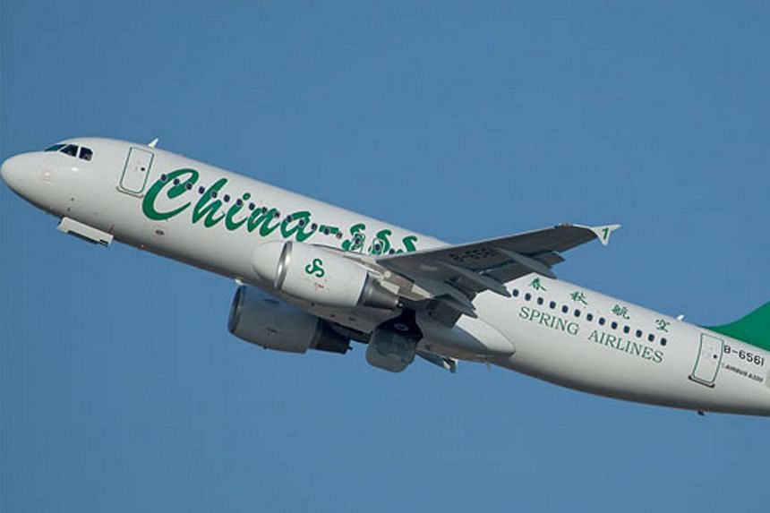 Spring Airlines is the first low-cost airline based in Shanghai, China.