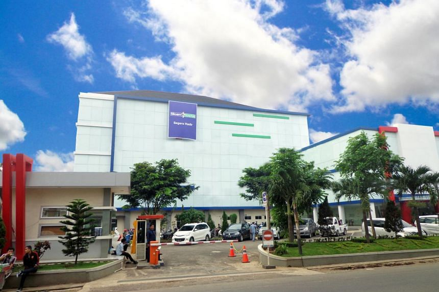 First Reit's Siloam Hospitals Purwakarta in West Java. The reit's Indonesian properties helped improve its second quarter results.