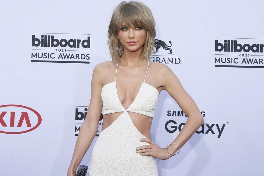 Singer Taylor Swift at the 2015 Billboard Music Awards in Las Vegas, Nevada. The singer is teaming up with JD.com Inc., the second- largest e-commerce company in China, to sell a new fashion line designed specifically for Chinese shoppers.