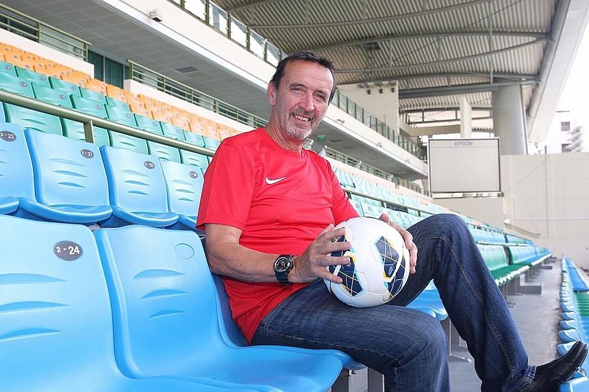"""Frenchman Richard Tardy, 64, is the new head coach of national youth teams. He wants to develop """"motivation and fighting spirit""""."""