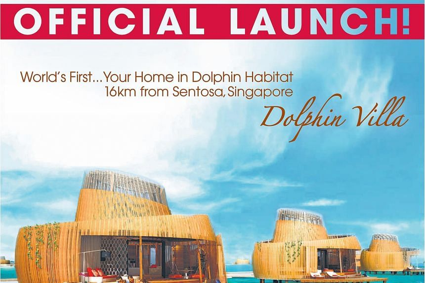 Funtasy Island Development, which has projects in Batam, launched Dolphin Villa (above) in April.