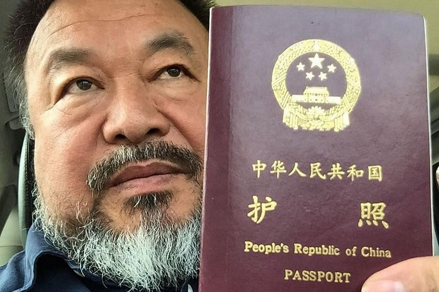 Chinese dissident artist Ai Weiwei on July 22, 2015. The world-renowned artist maintains the charges from the tax evasion case were trumped up in retaliation for his criticism of the government.