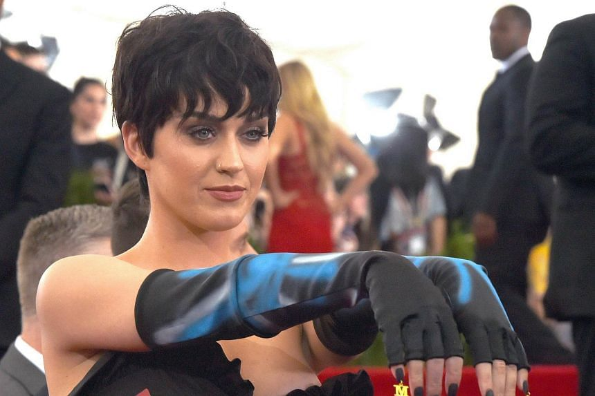 Singer Katy Perry at the 2015 Metropolitan Museum of Art's Costume Institute Gala. Perry has amassed millions of fans around the world, but her failure to win over two elderly nuns is creating an unholy battle.