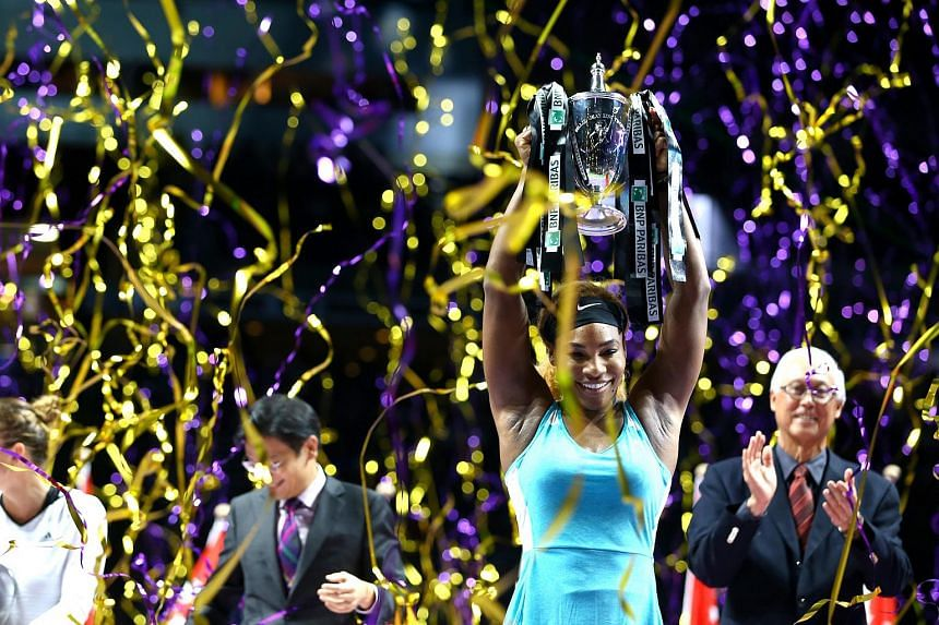 The second edition of the BNP Paribas WTA Finals Singapore will be held from Oct 23 to Nov 1. Serena Williams won last year's competition.