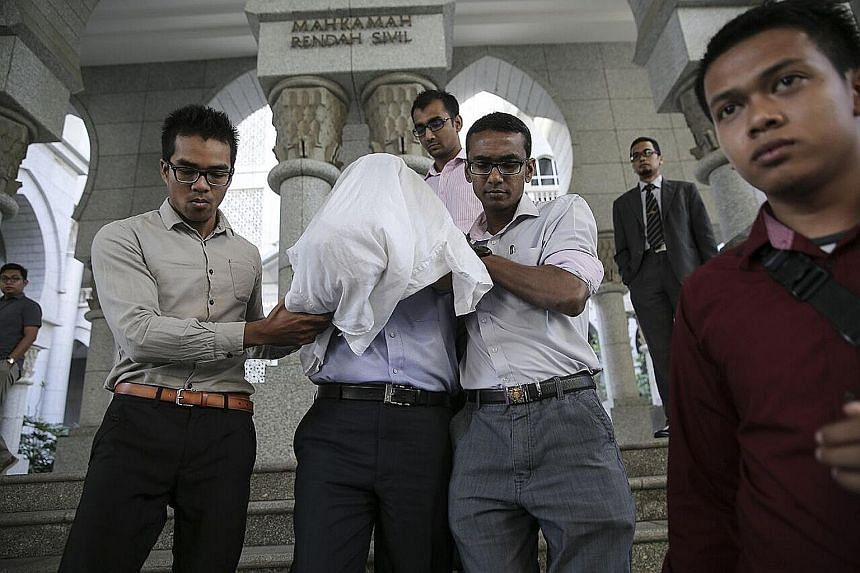 """The Malaysian Anti-Corruption Commission said the detainee, a managing director, was arrested on Tuesday """"to aid in investigations"""". He will be remanded for five days."""