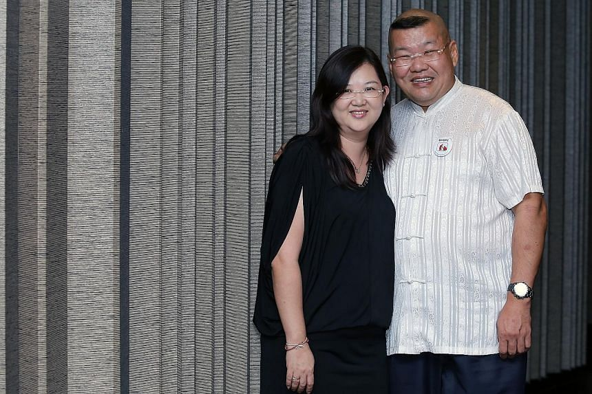 Mr Tommy Yu and Madam Sandy Leong, together with at least 40 other people, found their partners while volunteering with the club more than 20 years ago.