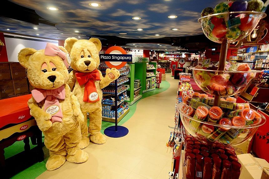 Hamleys, which has 54 stores in 17 countries, will open its flagship store here at Plaza Singapura today.