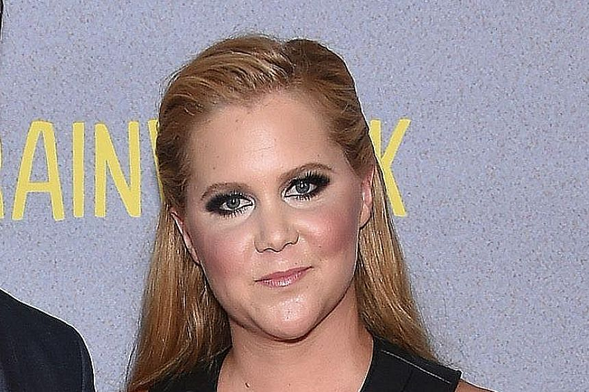 Comedienne Amy Schumer.