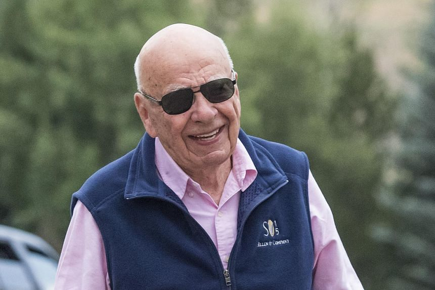There is no love lost between Mr Rupert Murdoch (above) and Mr Donald Trump, and the latter's recent controversial statements as a Republican hopeful have only made things worse.