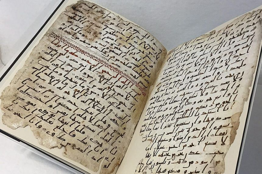 Radiocarbon dating shows the fragments of the Quran manuscript date back to the time of Prophet Muhammad.