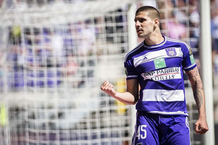 Aleksandar Mitrovic became the Newcastle United's second expensive new arrival this summer, leaving Anderlecht for a five-year contract at St James' Park.