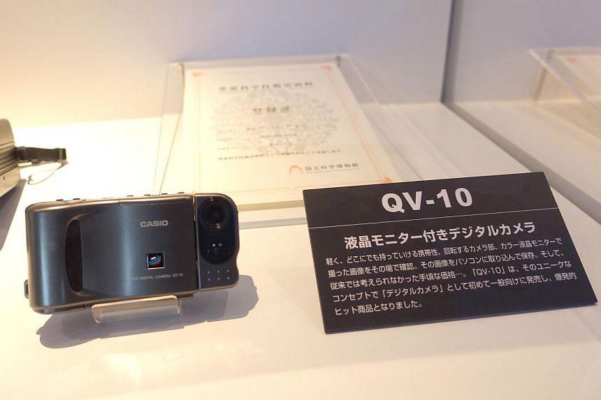 Casio QV-10 in the Futurerium exhibition.