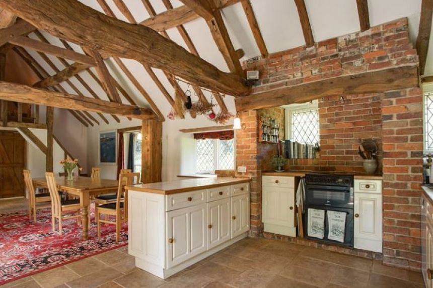 """The four-bedroom house is also said to have """"great charm and character""""."""