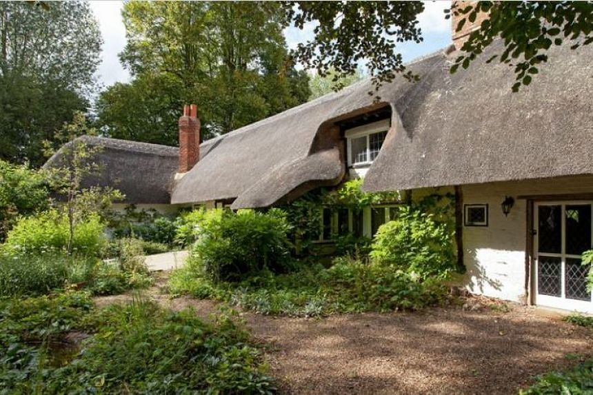 """The house has been described as """"a magical 17th century"""" thatched house in """"totally secluded and celebrated gardens""""."""