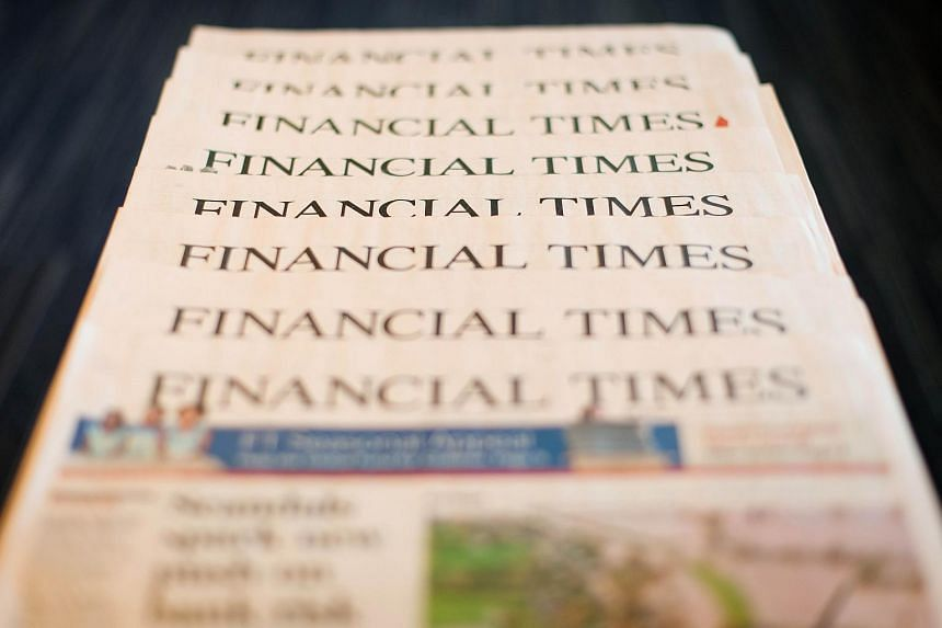 """British publisher Pearson is in """"advanced"""" talks to sell its flagship business newspaper the Financial Times to an unnamed suitor."""