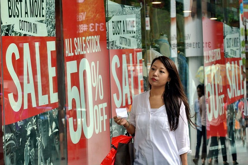 Singapore consumer prices fell for the eighth consecutive month of year-on-year declines.