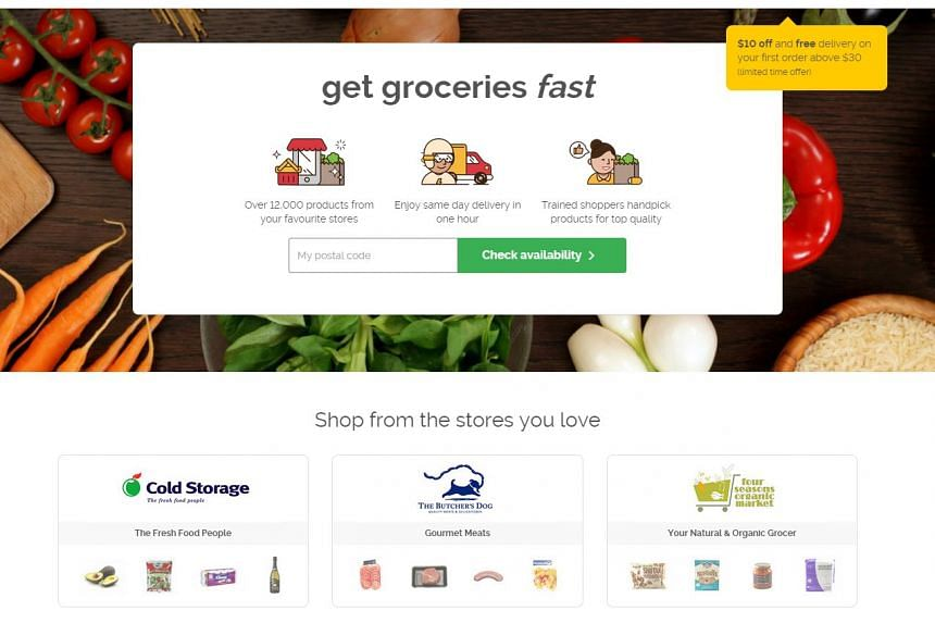 Home-grown grocery concierge service, Honestbee.