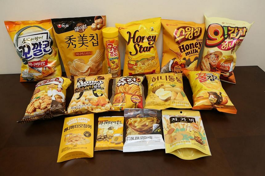 The honey butter chips craze in South Korea has spawned dozens of copycat products, including these 15 snacks.