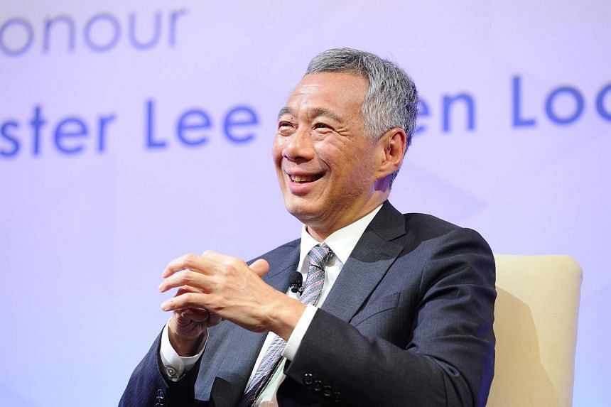 Mr Lee said that China wants their neighbours to be their friends, but at the same time, on such issues as the South China Sea, they want their interests to prevail.