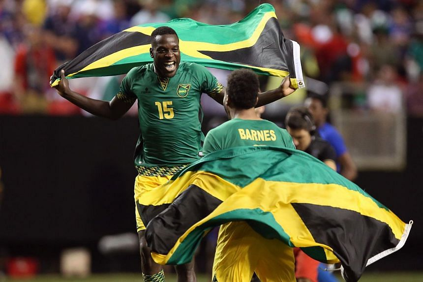 Jamaica's beat defending champion United States 2-1 on Wednesday in a Gold Cup semi-final.