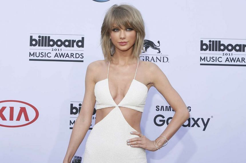 Pop star Taylor Swift (above) gave a tweet retort when rapper Nicki Minaj hinted she was passed over for Video of the Year as she is a good-sized African-American woman.