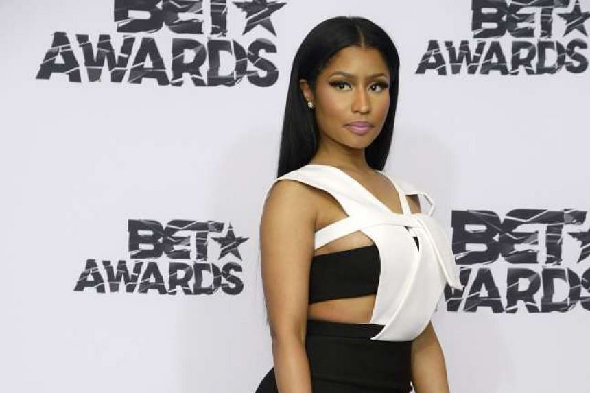 Pop star Taylor Swift  gave a tweet retort when rapper Nicki Minaj (above) hinted she was passed over for Video of the Year as she is a good-sized African-American woman.