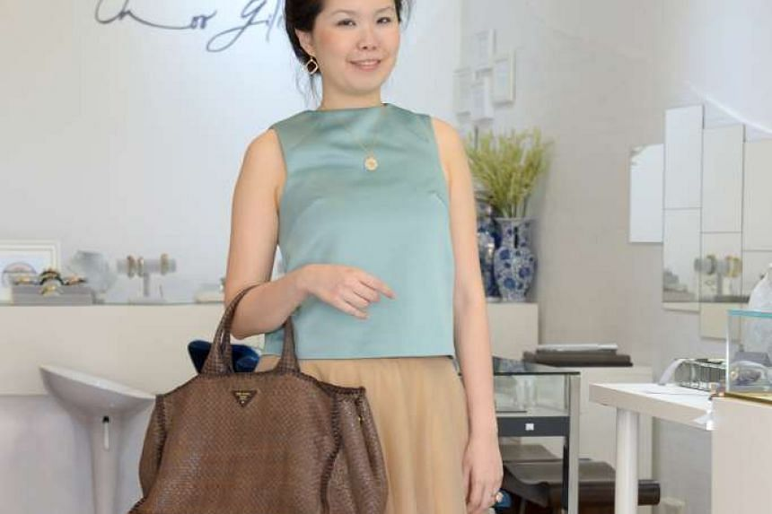 This Prada bag was jewellery designer Choo Yilin's first luxury purchase, made in 2012.