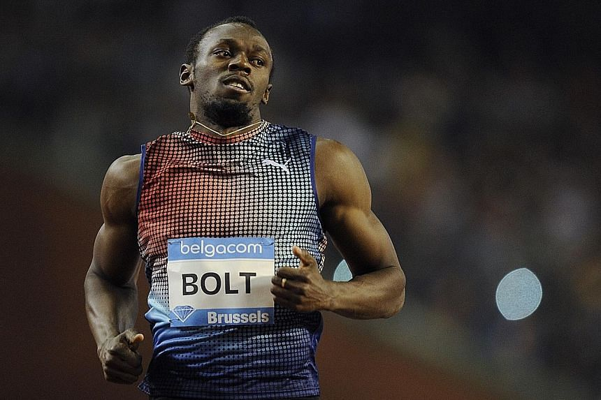 All eyes are on Usain Bolt at the London Diamond League meet today as he returns to action after an enforced injury break.