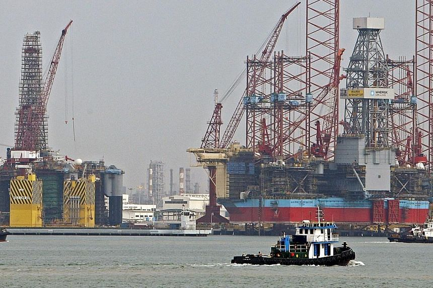 Keppel Corporation's revenue sank 19.3 per cent to $2.56 billion, largely due to Keppel Offshore & Marine, which accounts for the bulk of the group's turnover. Keppel O&M has yet to secure a rig order this year but its order book stands at $11 billio