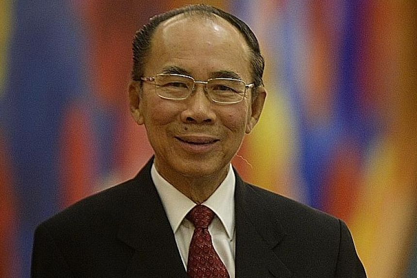 PUB chairman Tan Gee Paw (above) received a Lifetime Engineering Achievement Award.