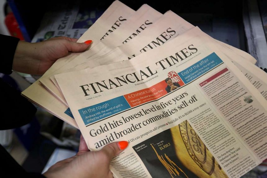 The sale of the Financial Times to Japanese group Nikkei was announced on Thursday.