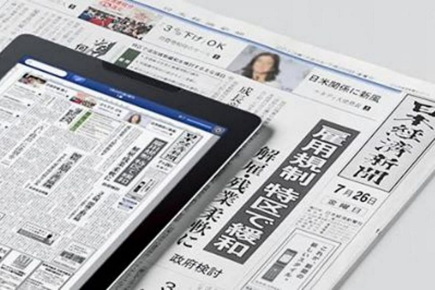 """The Nikkei group is the media giant behind the Nihon Keizai Shimbun - or Nikkei daily - which is considered the """"bible of Japanese business""""."""