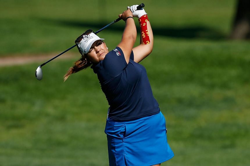 Lizette Salas at the Meijer LPGA Classic on July 23, 2015.