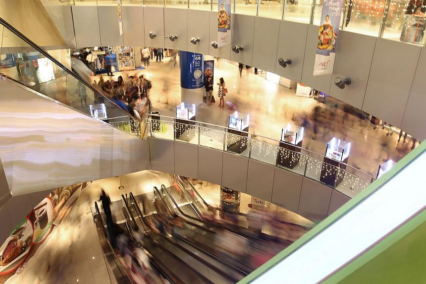 Prices and rentals of retail space both dipped by 0.5 per cent in the second quarter of this year.