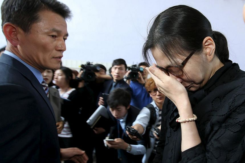 The Korean Air chief steward ejected from a flight by senior airline executive Heather Cho (above) has filed a lawsuit demanding compensation for assault and emotional distress.