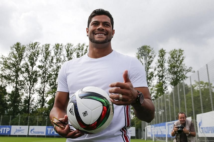 Hulk has withdrawn due to club commitments, Fifa said in a statement.
