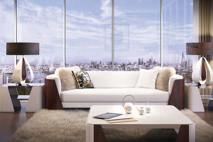 Versace interior design and styling raises the bar of luxury living in the capital.