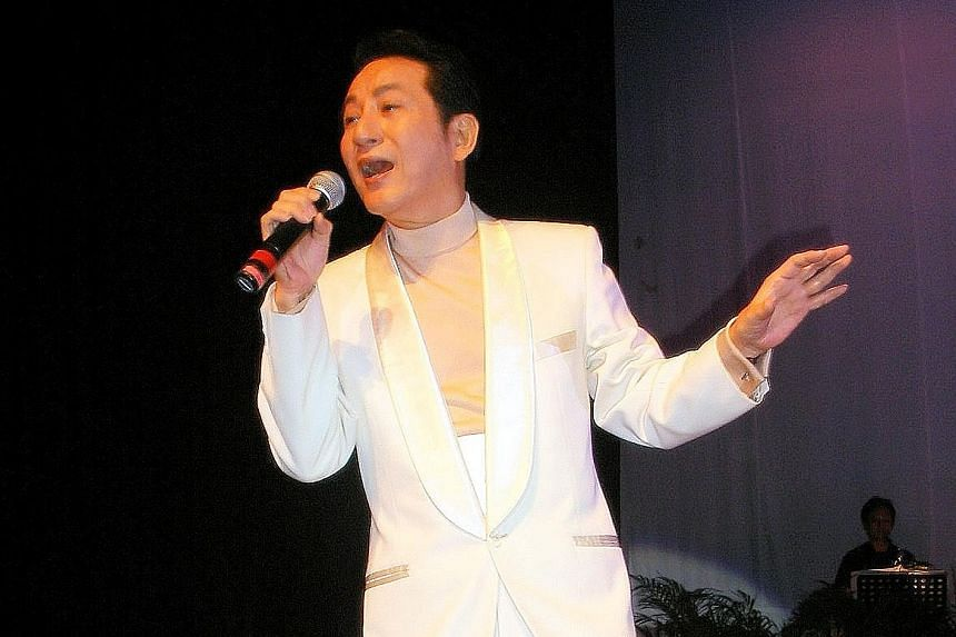 Singer Ching Shan has kept a low profile since his last solo concert five years ago.