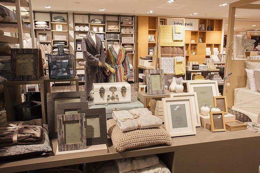 Bed, bath and home accessories will be available at John Lewis' retail spaces here.